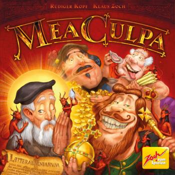 Mea Culpa board game