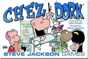 Chez Dork board game