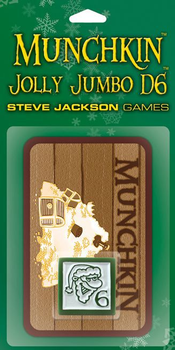 Munchkin: Jolly Jumbo D6 board game