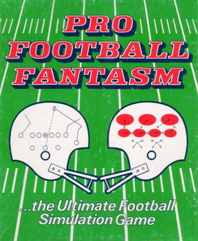 Pro Football Fantasm board game