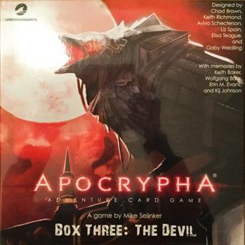 Apocrypha Adventure Card Game: Box Three – The Devil board game