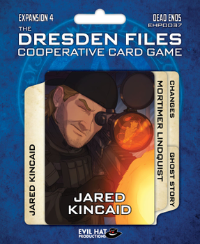 The Dresden Files Cooperative Card Game: Dead Ends board game