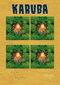 Karuba: The Volcano board game
