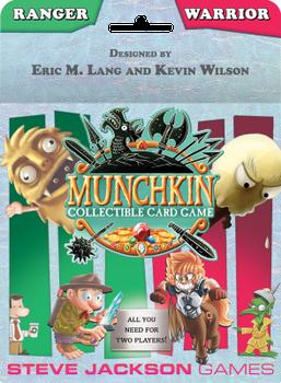 Munchkin Collectible Card Game: Ranger & Warrior Starter Set board game
