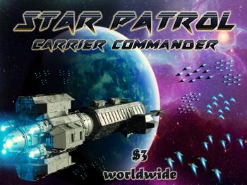 Star Patrol: Carrier Commander board game