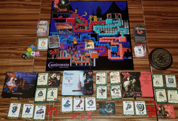Castlevania: Nocturne of the Tabletop board game