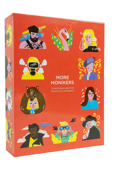 Monikers: More Monikers board game