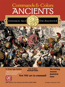 Commands & Colors: Ancients Expansion Pack #5 – Epic Ancients II board game