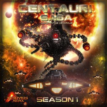 Centauri Saga: Abandoned board game