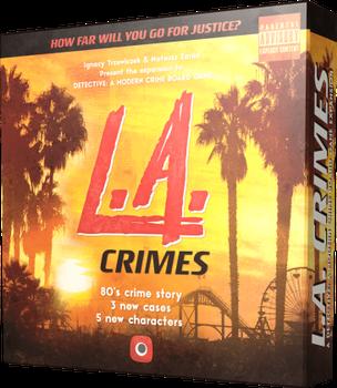 Detective: L. A. Crimes Expansion board game