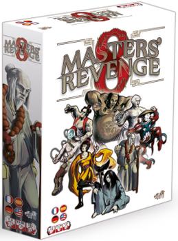 8 Masters' Revenge board game