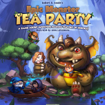Epic Monster Tea Party board game