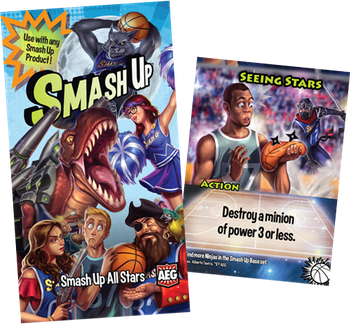 Smash Up: All Stars board game