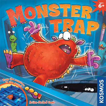 Monster Trap board game