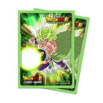 Dragon Ball Super: Deck Protector Sleeves - Broly (65) board game