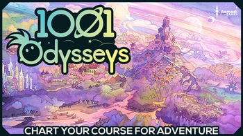 1001 Odysseys board game