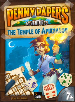 Penny Papers Adventures: The Temple of Apikhabou board game