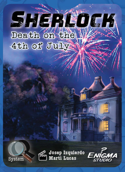 Sherlock: Death on the 4th of July board game