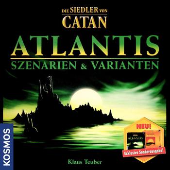 Die Siedler von Catan: Atlantis – Szenarien & Varianten board game