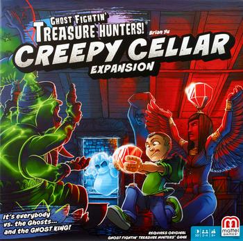 Ghost Fightin' Treasure Hunters: Creepy Cellar Expansion board game