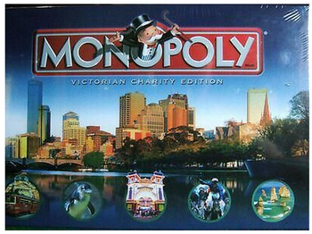 Monopoly: Victorian Charity Edition board game