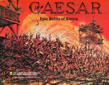 Caesar: Epic Battle of Alesia board game