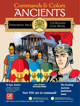 Commands & Colors: Ancients Expansion Pack #3 – The Roman Civil Wars board game