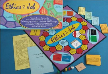 Ethics on the Job board game