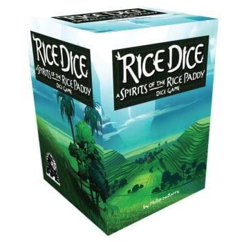 Rice Dice board game