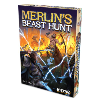Merlin's Beast Hunt board game