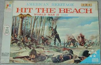 Hit the Beach board game