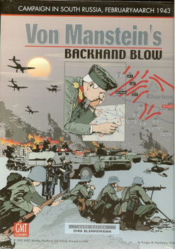 Von Manstein's Backhand Blow board game