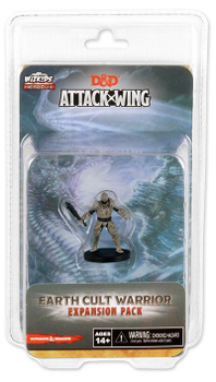 Dungeons & Dragons: Attack Wing – Earth Cult Warrior Expansion Pack board game