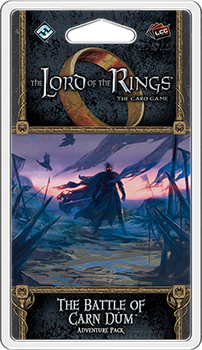 The Lord of the Rings: The Card Game – The Battle of Carn Dûm Adventure Pack board game