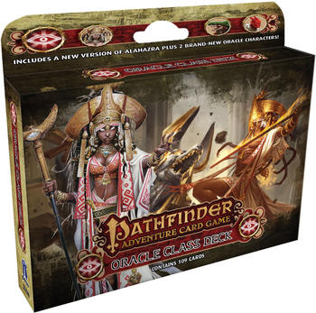 Pathfinder Adventure Card Game: Oracle Class Deck board game