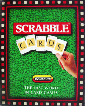 Scrabble Card Game board game