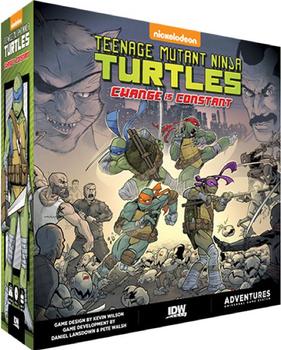 Teenage Mutant Ninja Turtles: Change Is Constant board game