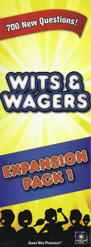 Wits & Wagers Expansion Pack 1 board game