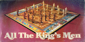 All The King's Men board game