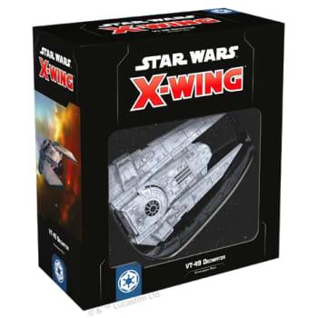 Star Wars X-Wing Second Edition: VT-49 Decimator board game
