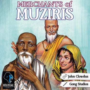 Merchants of Muziris board game