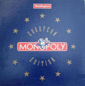 Monopoly: European Edition board game