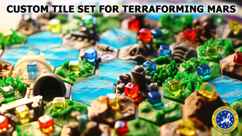 Terraforming Mars: Custom Tile Set