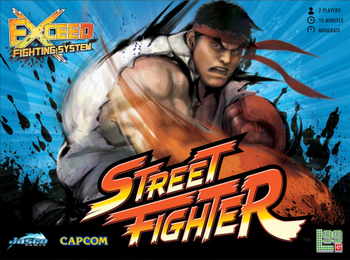EXCEED: Street Fighter – Ryu Box board game