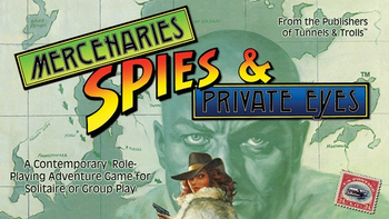 Mercenaries, Spies & Private Eyes board game