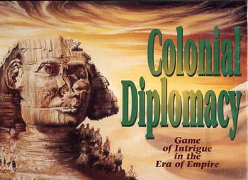 Colonial Diplomacy board game