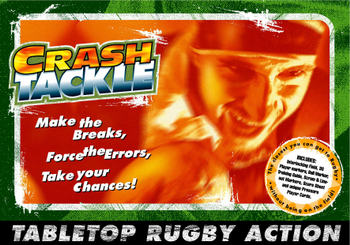 Crash Tackle Rugby Board Game board game