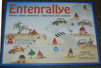 Entenrallye board game