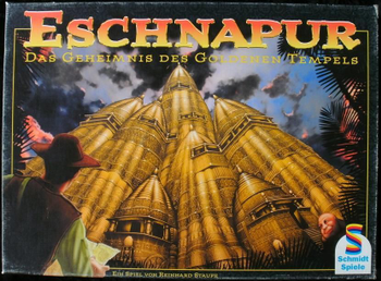 Eschnapur board game
