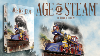 Age of Steam: Deluxe Edition board game